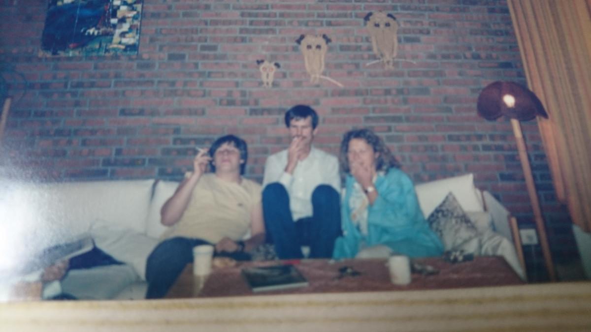 Simon, Schlumi, Elvira die Psychologin.