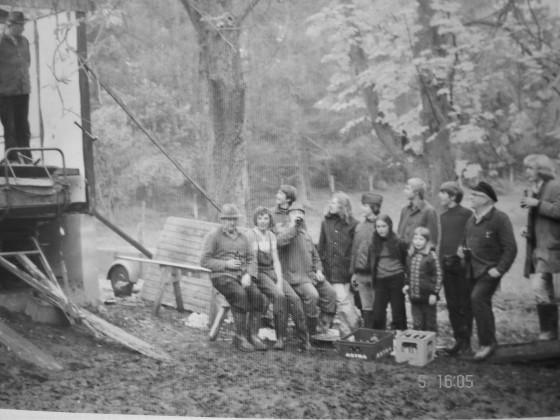 Pferdestall - 1975 - Richtfest
