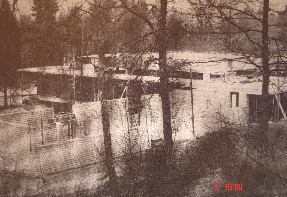 Wirtschaftsgeb. - 1972 - Bauphase