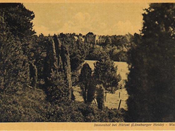 NSV.Blick von Westen auf das Waldhaus