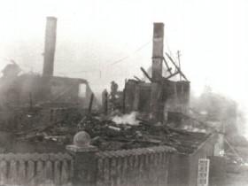 1929 - Hauptgeb. nach dem brannt