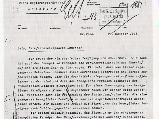 Okt.1933 - die Enteignung