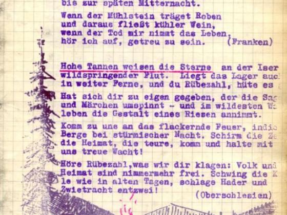 Liederheft Seite 1