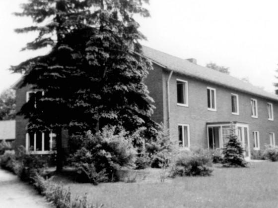 Das Verwaltungsgebäude um 1966