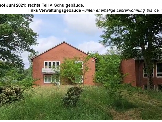 02 Immenhof 2021 -Schulgebäude, Lehrerwohnung
